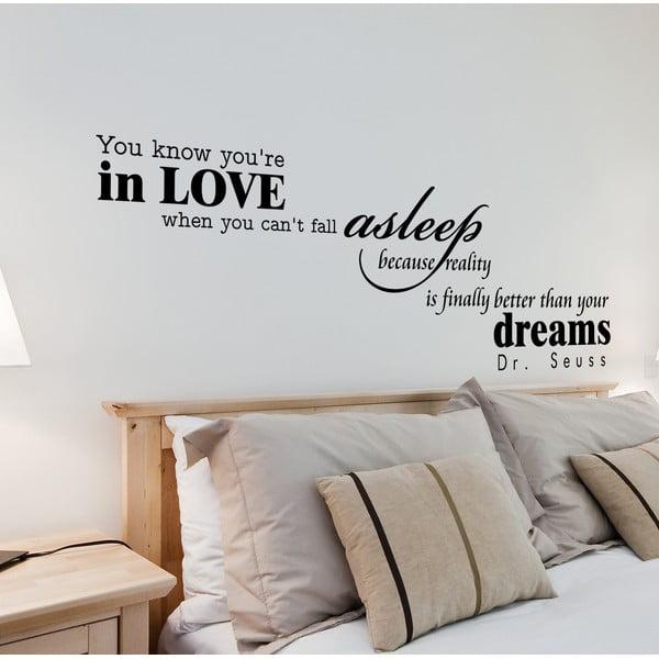 Naklejka dekoracyjna Asleep