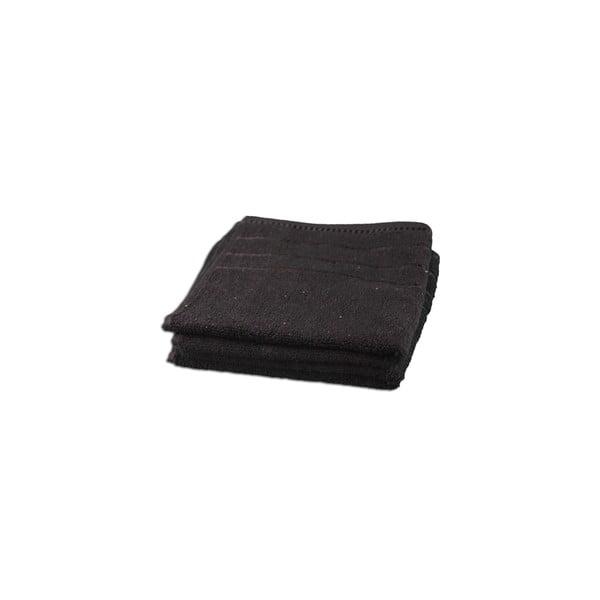 Ręcznik Berlin Black, 70x140 cm