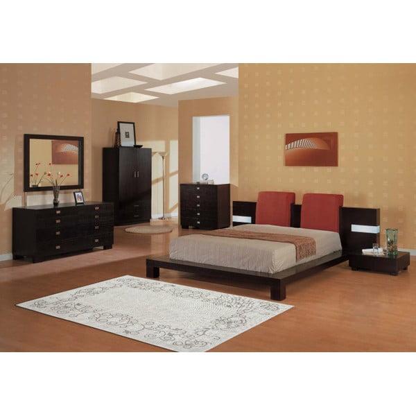 Kremowy dywan bawełniany Floorist Floral, 100x200cm
