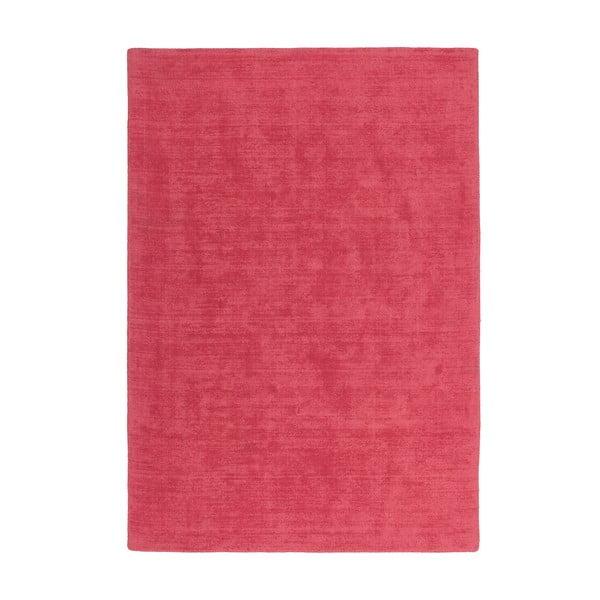 Dywan wełniany Tiffany 80x150 cm, intensywnie różowy