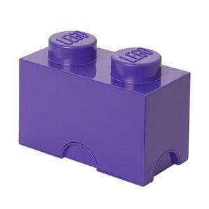 Pudełko Lego, fioletowe