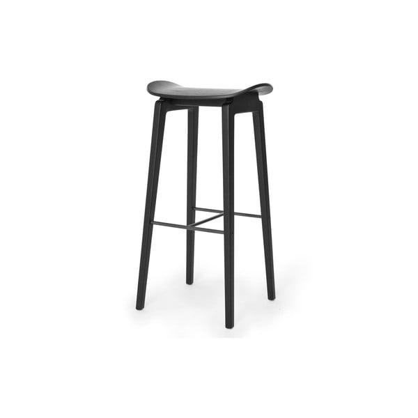Czarny hoker NORR11 NY11, 75x35 cm