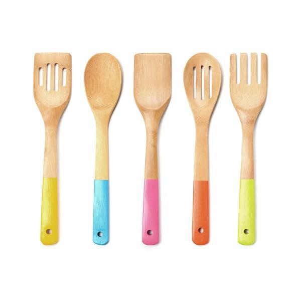Zestaw drewnianych przyborów kuchennych Premier Housewares Utensil Set, 5 sztuk
