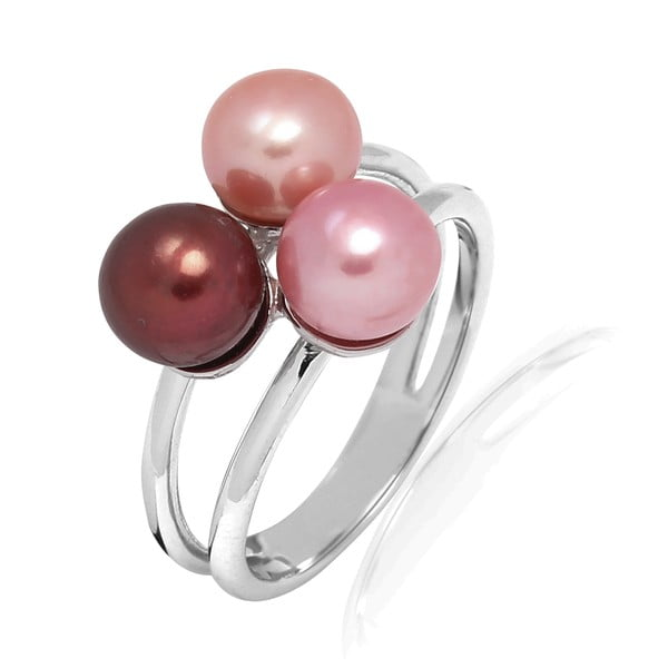 Pierścionek Pure Pearls Pink Candy, rozm. 56