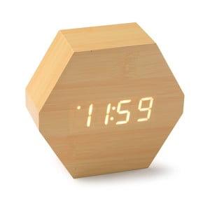 Zegar LED z drewna bambusowego Versa Table Clock