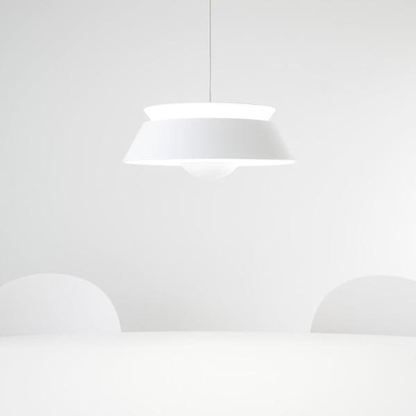 Biała lampa wisząca Cuna White