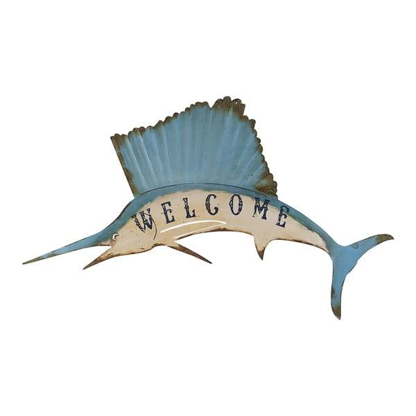 Dekoracja ścienna Athezza Marlin Welcome