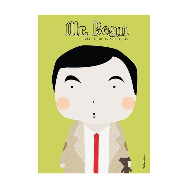 Plakat I want to be Mr. Bean