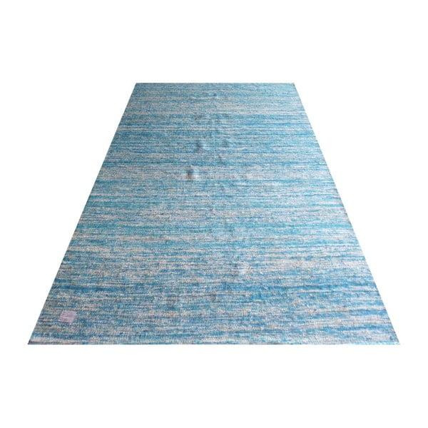 Ręcznie tkany dywan Sari Silk Blue, 150x240 cm
