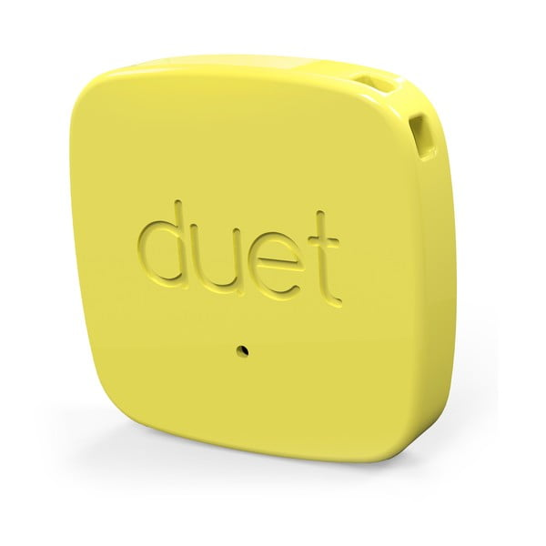 Lokalizator bluetooth Duet Protag, żółty