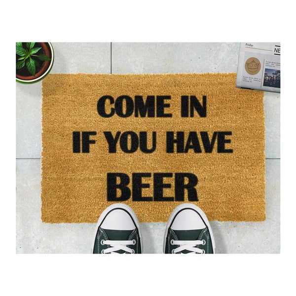 Wycieraczka Artsy Doormats Come Again and Bring Beer, 40x60 cm