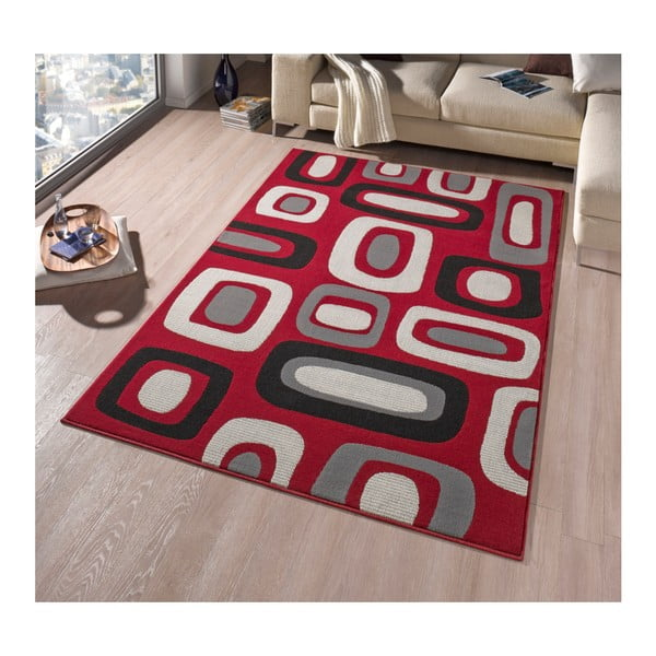Dywan Hanse Home Hamla Willy Red, 80 x 200 cm