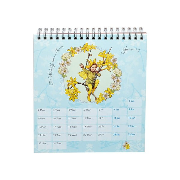 Kalendarz na stół Portico Designs Flower Fairies