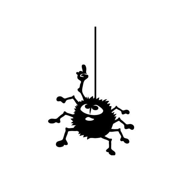 Naklejka Ambiance Hanging Spider