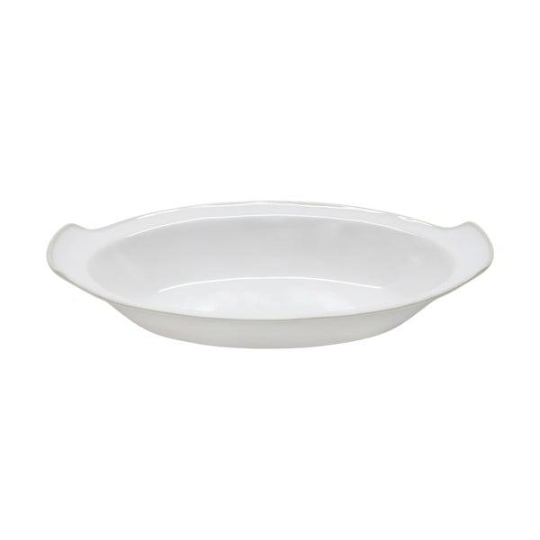 Ceramiczne naczynie do zapiekania Astoria 33 cm, białe