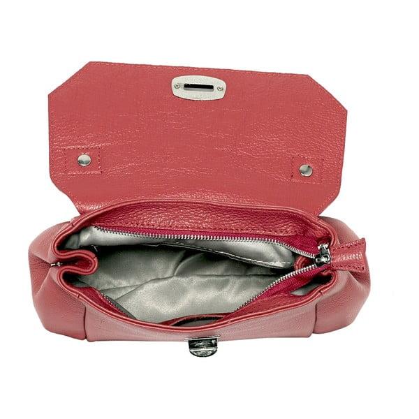 Skórzana torebka Andrea Cardone 2021 Red