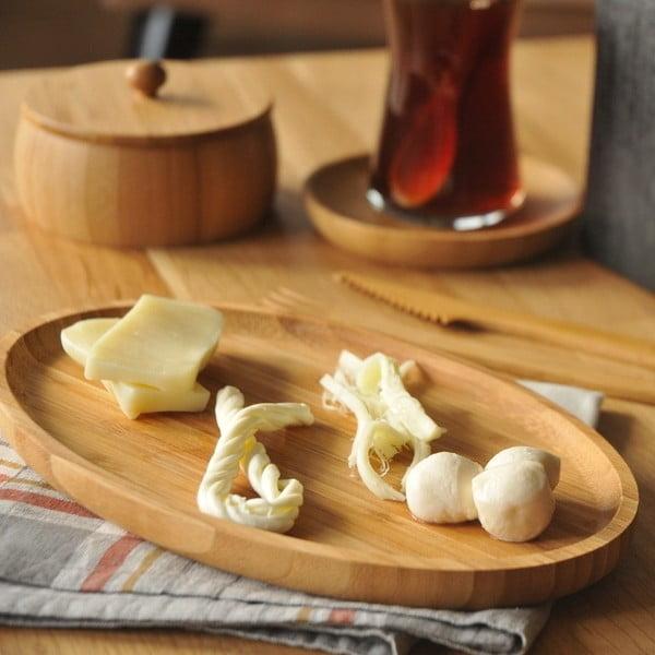 Bambusowy półmisek do serwowania przekąsek Bambum Snack Bowl