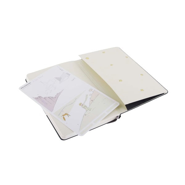 Notatnik Moleskine Le Petit Prince, 9x14 cm