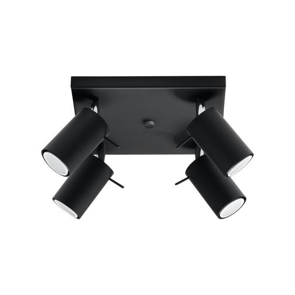 Czarna lampa sufitowa Nice Lamps Ethna 4
