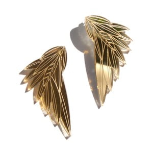 Kolczyki Wing Gold