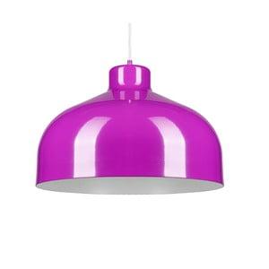 Fioletowa lampa wisząca Loft You B&B, 33 cm