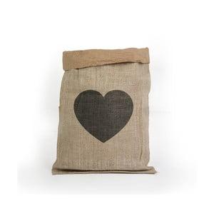 Kosz/worek z papieru z odzysku Surdic Yute Heart