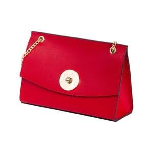 Czerwona torebka skórzana Andrea Cardone Elda