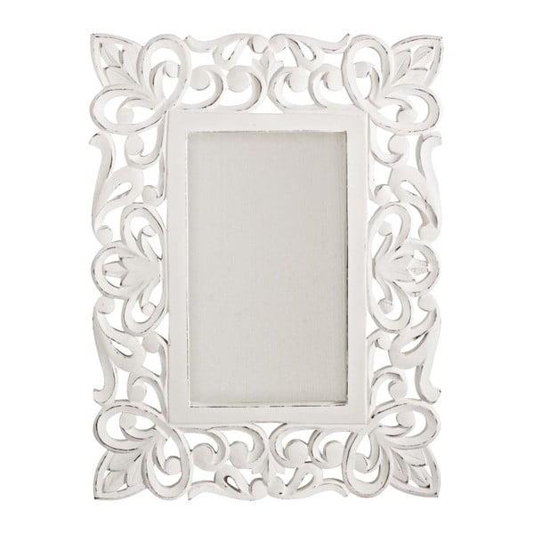 Lustro ścienne Bianco Antico, 45x60 cm