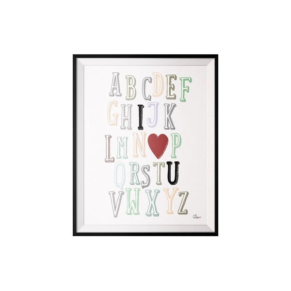 Plakat ABC, 50x70 cm