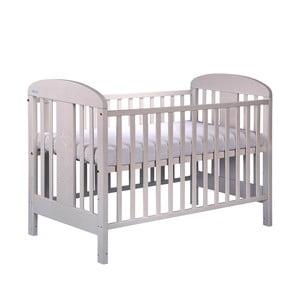 Łóżeczko dziecięce z bokami na stałe Olina, białe