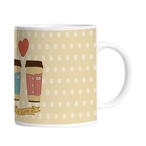 Ceramiczny kubek Cup of Love, 330 ml