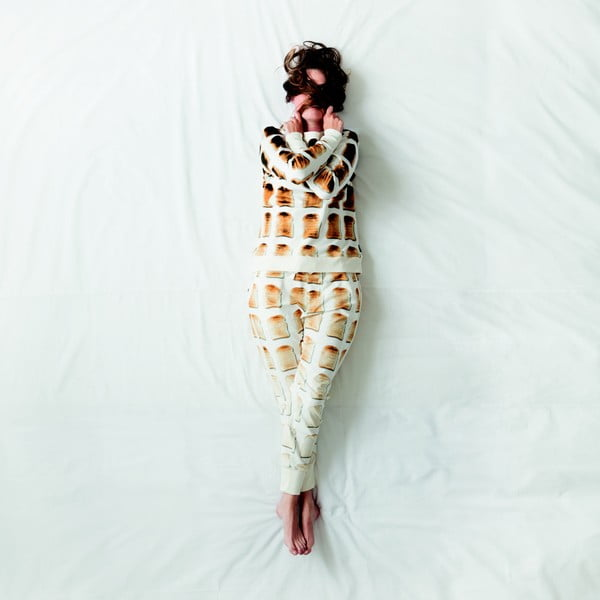Biała bluza damska  Snurk Toast, L