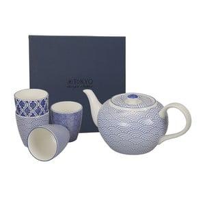 Zestaw do herbaty Nippon Blue Wave