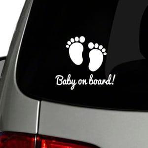 Naklejka Fanastick Baby On Board