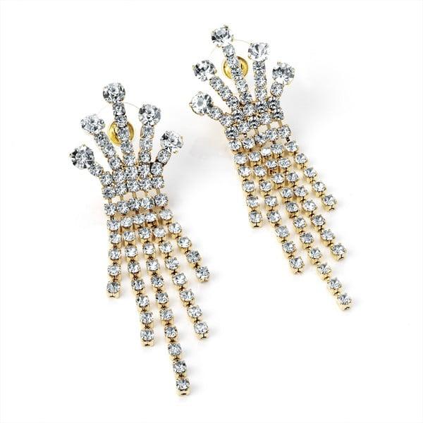 Kolczyki Crystal Crown
