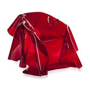 Fotel Drapppeggi Poltrona Rosso