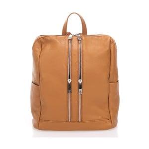 Jasnobrązowy plecak Markese Cipria