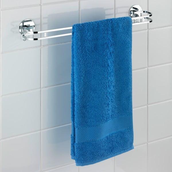 Wieszak na ręczniki z przyssawkami Wenko Turbo-Loc 52 cm, do 40 kg