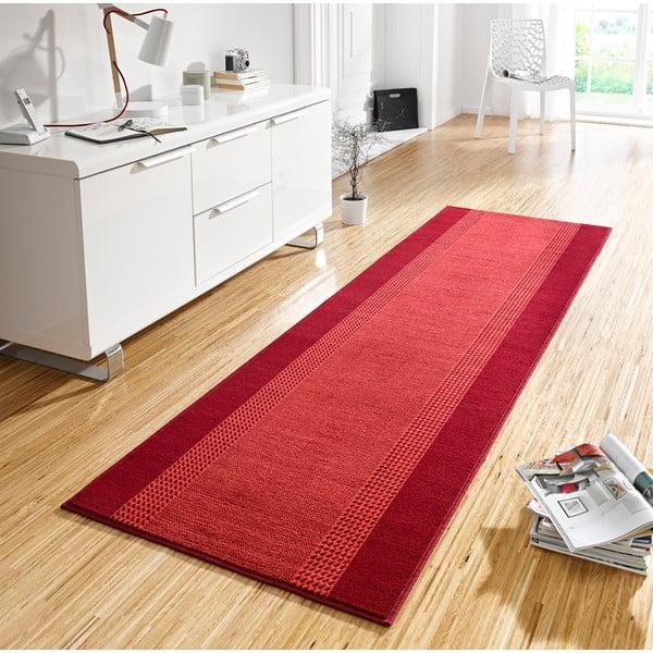 Dywan Basic, 80x500 cm, czerwony