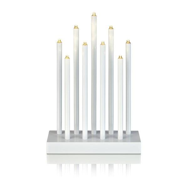 Biały świecznik LED Markslöjd Viik