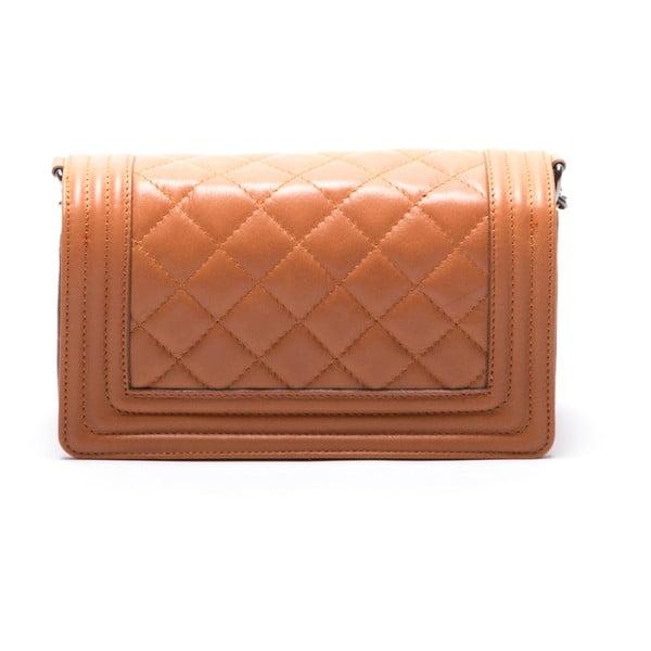 Skórzana torebka Fiola, koniak