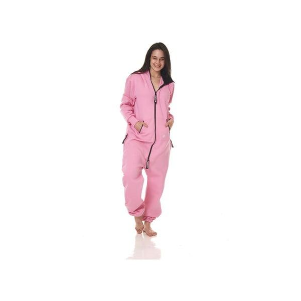Kombinezon domowy Streetfly Pink, L