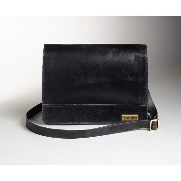 Męska torba skórzana Winter Smoke Messenger, 39 cm