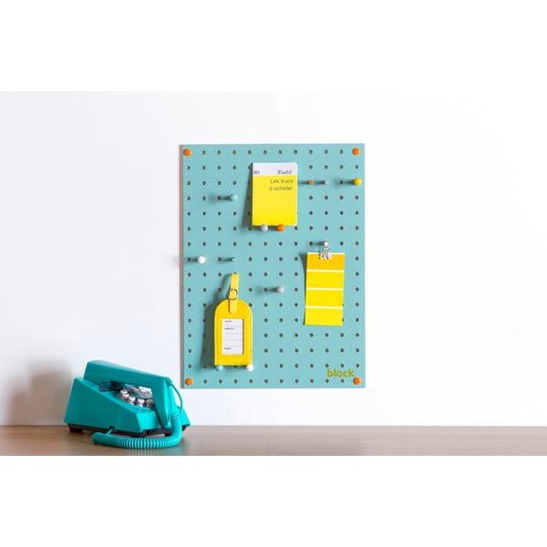 Wielofunkcyjna tablica Pegboard 30x40 cm, niebieska