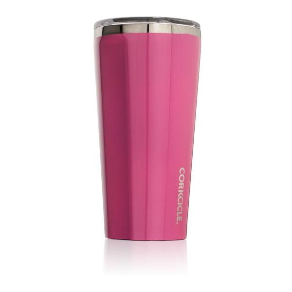 Różowy kubek termiczny Corkcicle Tumbler, 260 ml