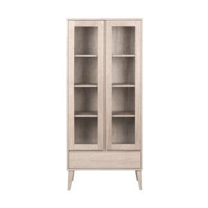 Witryna 2-drzwiowa z szufladą Actona Nagano