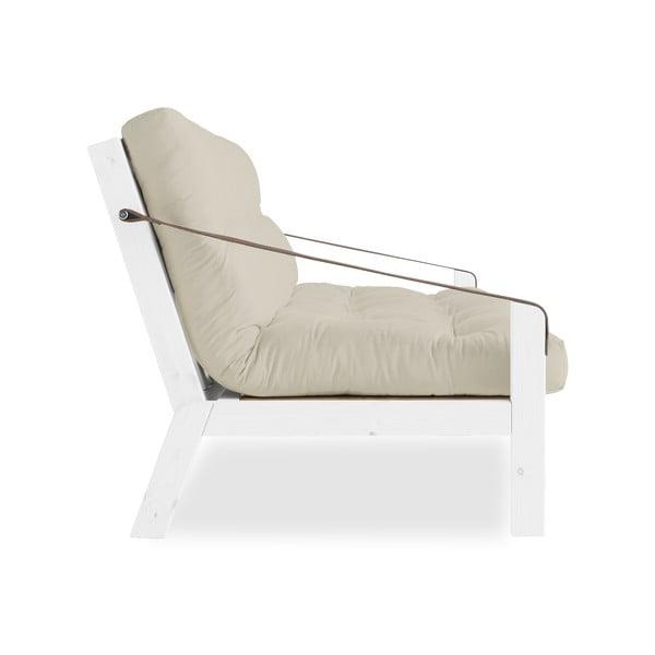 Sofa rozkładana Karup Design Poetry White/Vision/Gris