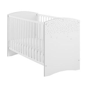 Białe łóżeczko dziecięce Galipette Zoé, 60x120cm