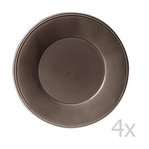 Zestaw 4 talerzy Constrance Pepper, 28.5 cm