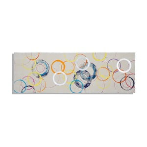 Obraz ręcznie malowany Mauro Ferretti Rings, 50x150cm